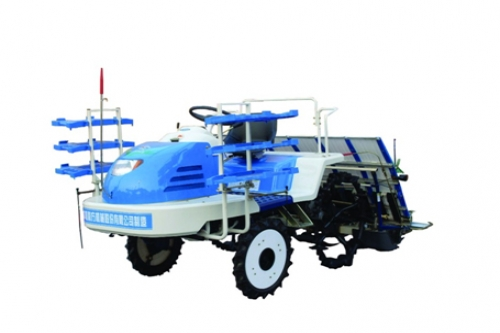 Riding Rice Transplanter
