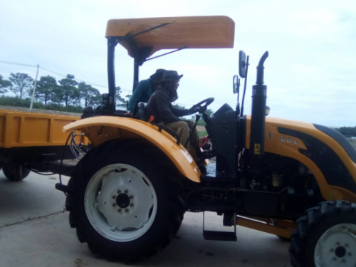 QLN Customers Feedback About 604HP Tractors With Trailer In Philippines
